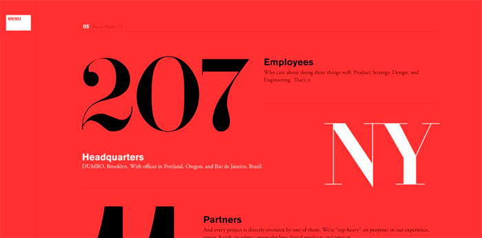 serif font illustration
